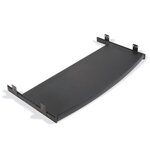 "12"" x 27"" Curved Keyboard Mouse Tray"