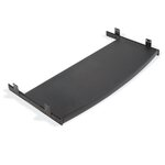 "12"" x 29"" Curved Keyboard Mouse Tray"