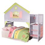 Donco Kids Doll House Twin Loft Bed