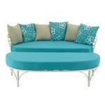 2 Piece Sofa Set with Cushions