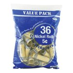 36 Ct. Coin Wrappers Denomination: Nickel