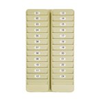 24 Pocket Badge Rack