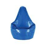Adult Wetlook Bean Bag Chair Upholstery: Blue