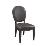 Accent Side Chair (Set of 2) Finish: Keats Gray