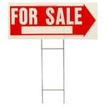 "10"" x 24"" For Sale Sign"