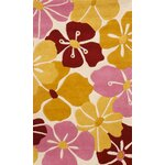 Tropical Flower Area Rug