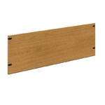 """10500 Series Back Enclosure for Stack-On Storage Color: Mahogany, Size: 72"""" W"""