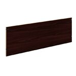 "10500 Series Back Enclosure for Stack-On Storage Size: 60"" W, Color: Mahogany"