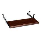 10700 Series Slide-Away Keyboard Platform, Laminate Finish: Mahogany