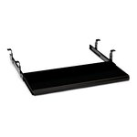 10700 Series Slide-Away Keyboard Platform, Laminate Finish: Black