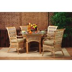 10 Piece Dining Set Fabric: Lucian Flint