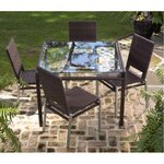 All-Weather Pacific 5 Piece Dining Set