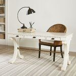 Willowbrook Writing Desk Finish: White