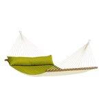 ALABAMA Weatherproof Kingsize Spreader Bar Rope Hammock Color: Avocado