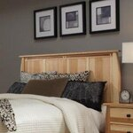 Adamstown Wood Headboard Size: King