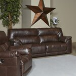 2 Seat Reclining Sofa Type: Manual