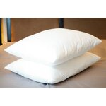 100% Cotton Cover Bed Pillow Size: King