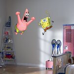 SpongeBob and Patrick Wall Graphic