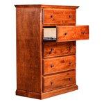 5 Drawer Dresser Finish: Honey Oak