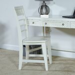 Amanda Side Chair Finish: Bright White