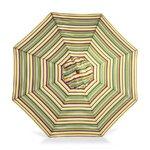 "1.5"" Octagonal Umbrella with Crank Arm Fabric: Carnival Stripe"
