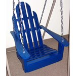 Adirondack Porch Swing Finish: Berry Blue