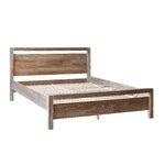 Loft Queen Platform Bed Upholstery: Weathered Pine