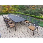 13 Piece Dining Set with Cushions
