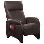 Aberdeen Chaise Recliner Upholstery: Chocolate