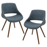 Aird Arm Chair Upholstery: Blue