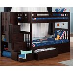 Cascade Twin Bunk Bed with Storage