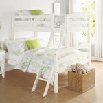 Poet Sienna Rose Twin Bunk Bed Finish: White
