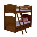 David Twin Over Twin Bunk Bed