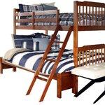 Wyton Twin over Full Bunk Bed Finish: Mahogany