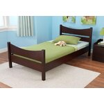 KidKraft Addison Toddler Bed Finish: Espresso, Size: Twin
