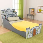 Medieval Castle Convertible Toddler Bed