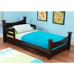 KidKraft Addison Toddler Bed Finish: Espresso, Size: Toddler