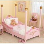 Princess Toddler Four Poster Bed