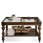 Versailles Coffee Table Finish: Mink Brown