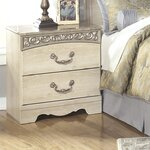 Johnby 2 Drawer Nightstand