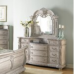 11 Drawer Dresser with Mirror