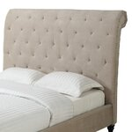 Adrienne Upholstered Headboard Size: Queen