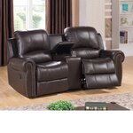 Bloomington Leather Home Theater Recliner