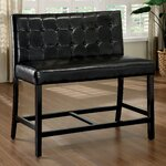 """2 Seater 26.5"""" Bar Stool with Cushion"""