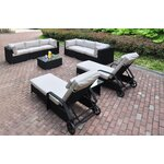 10 Piece Deep Seating Group with Cushion
