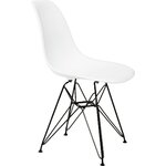 Banks Side Chair Finish: White