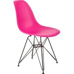 Banks Side Chair Finish: Pink