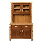 Cedar Buffet and Hutch