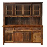 Barnwood Buffet with Hutch Finish: Antique Oak