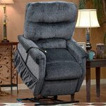 1100 Series 3 Position Lift Chair wth Heat Upholstery: Peral